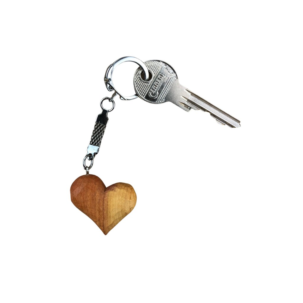 Dřevěná klíčenka Rony