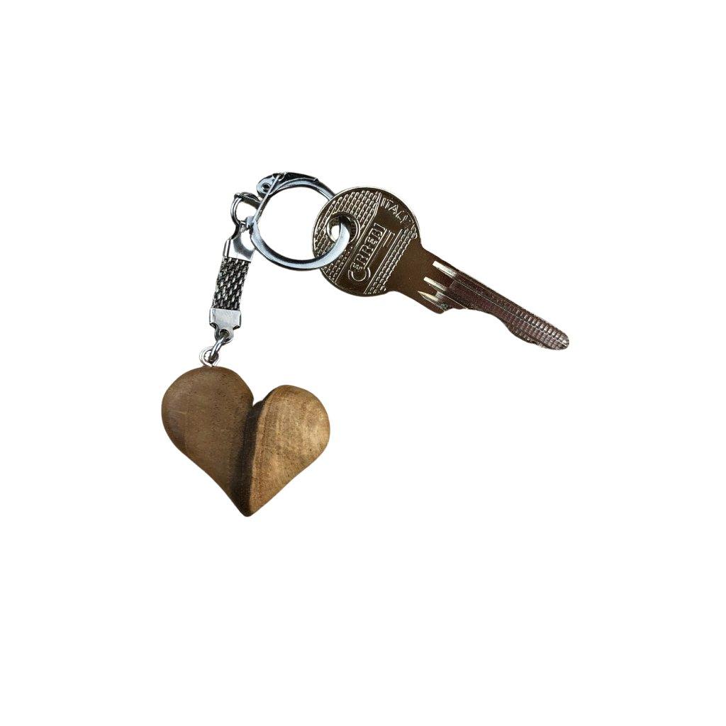 Dřevěná klíčenka Mason