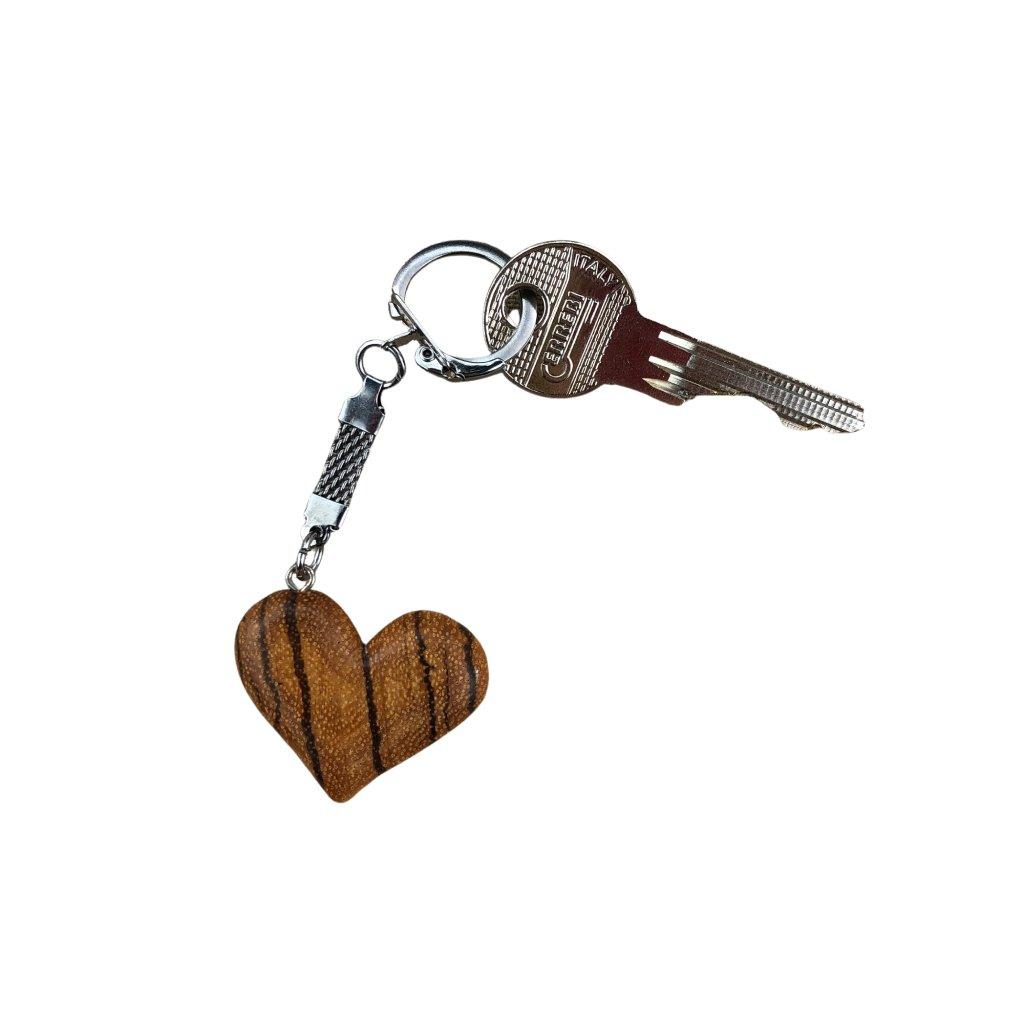 Dřevěná klíčenka Brisa