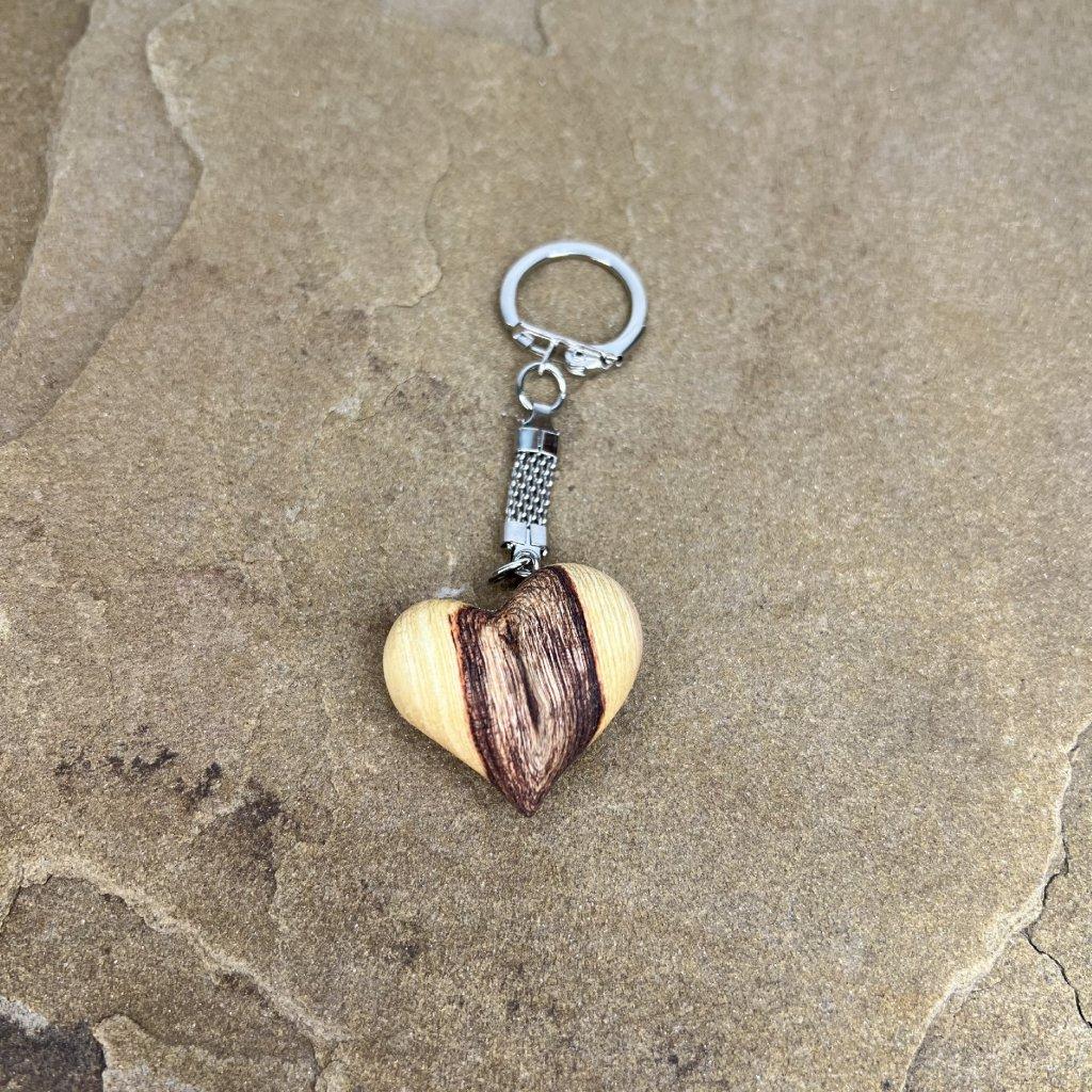 Dřevěná klíčenka Cristal