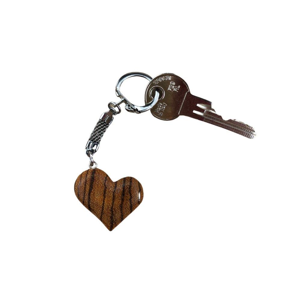 Dřevěná klíčenka Dora