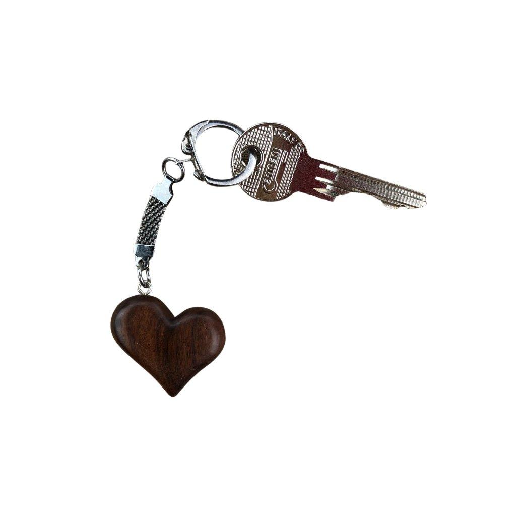 Dřevěná klíčenka Mandy