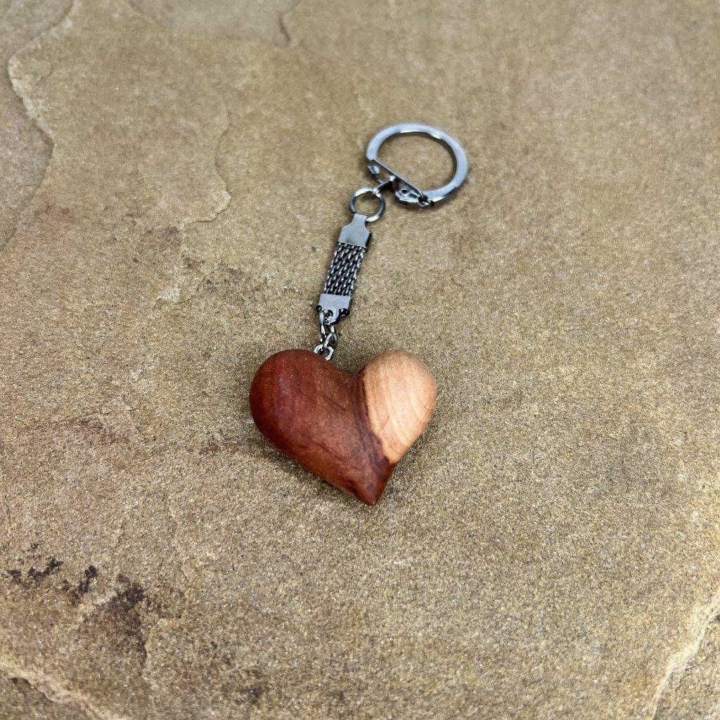 Dřevěná klíčenka Patti