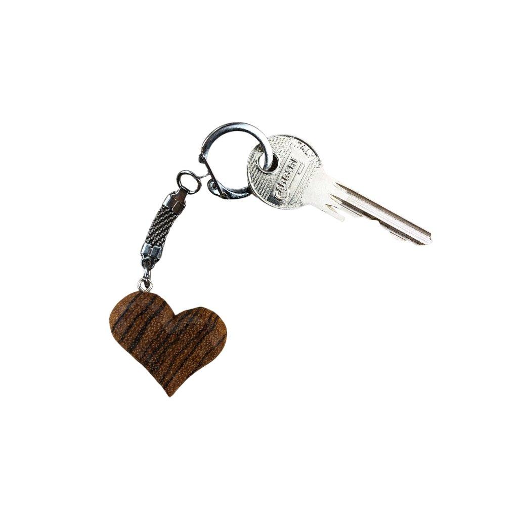 Dřevěná klíčenka Zara