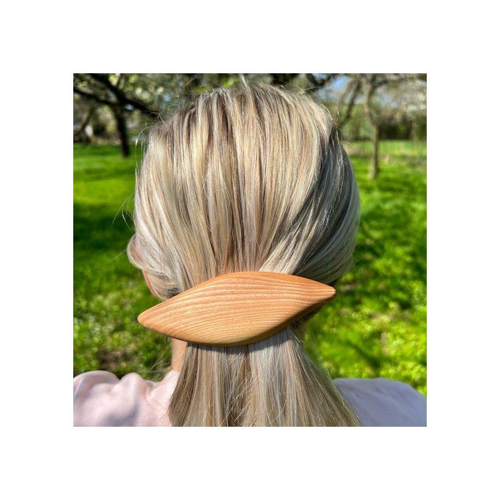 Dřevěná spona do vlasů Celeste