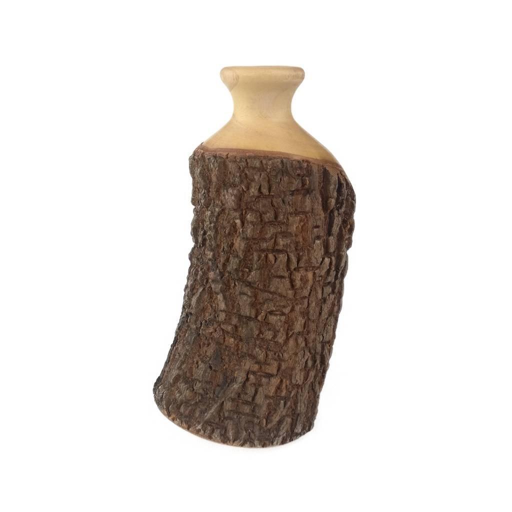 Dřevěná váza 13 cm Klaudia