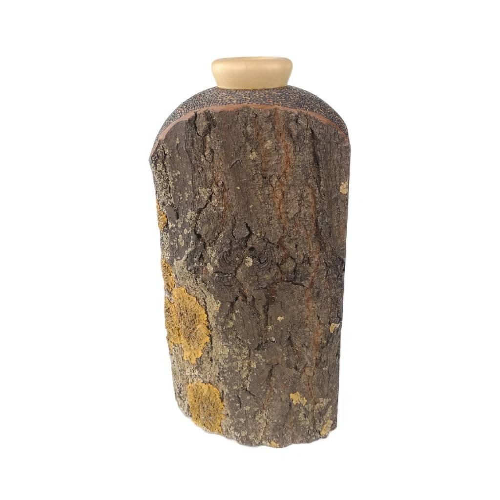 Dřevěná váza 22 cm Zulu