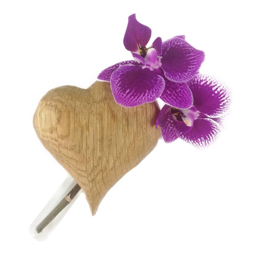 Dřevěná váza na magnet Tyriq