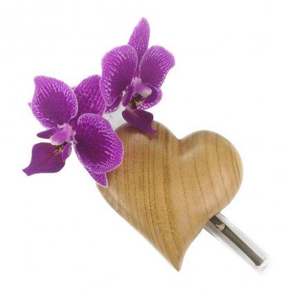 Dřevěná váza na magnet Brian