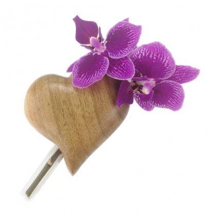 Dřevěná váza na magnet Benito