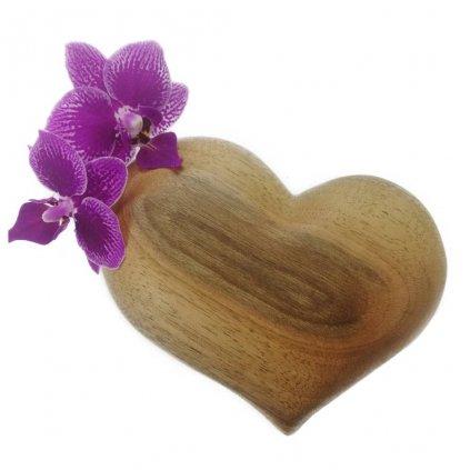Dřevěná váza na magnet Antonie