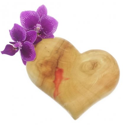 Dřevěná váza na magnet Dolores