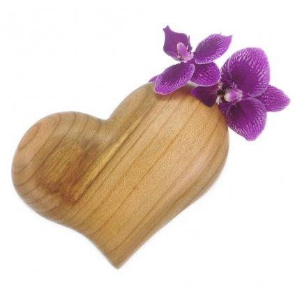 Dřevěná váza na magnet Jeanette