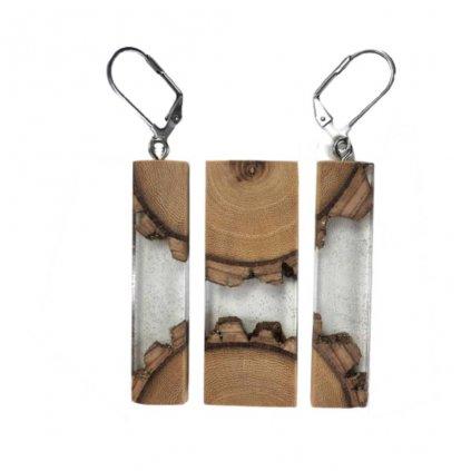 Dřevěná sada šperků Kayle