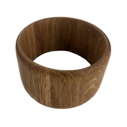 Dámský dřevěný náramek 4,3 cm Noela, dub