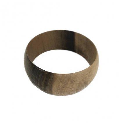 Dámský dřevěný náramek 3 cm Melissa, ořech