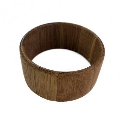 Dámský dřevěný náramek 3,7 cm Lentia, dub