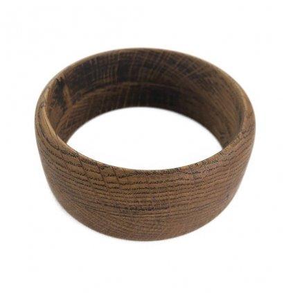 Dámský dřevěný náramek 3,6 cm Salvia, dub