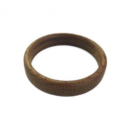 Dámský dřevěný náramek 1,8 cm Arya, dub