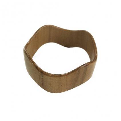Dámský dřevěný náramek 2,5 cm Luisiana, lípa