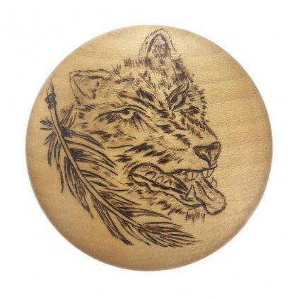 Dřevěný otvírák na pivo Wolf, javor