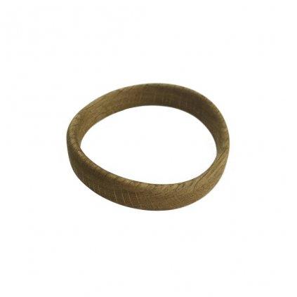 Dámský dřevěný náramek 1,3 cm Amedia, dub