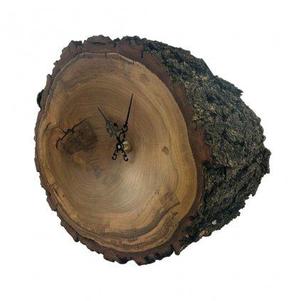 Dřevěné nástěnné hodiny Luxury