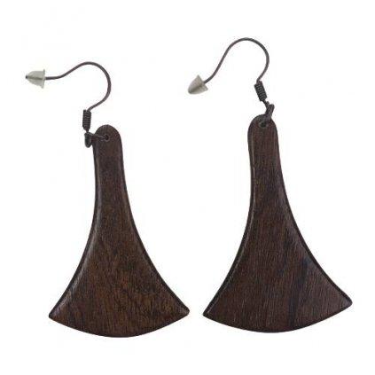 Dřevěné náušnice James
