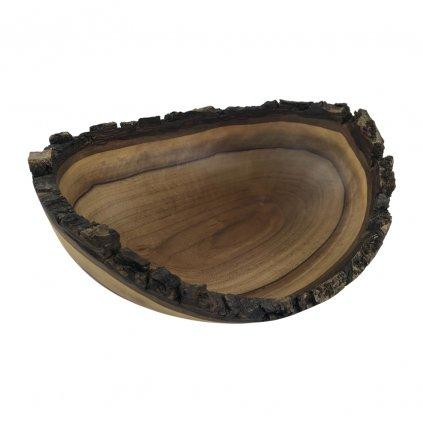 Dřevěná miska Halle, ořech