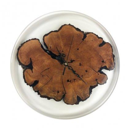 Dřevěné nástěnné hodiny Reyna