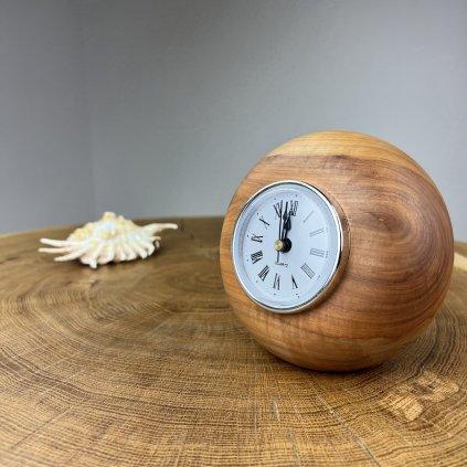 Dřevěné stolní hodiny Toya