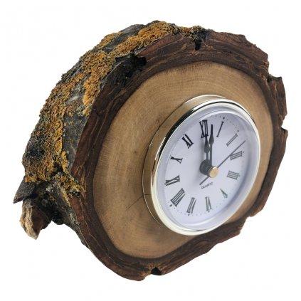Dřevěné stolní hodiny Cole