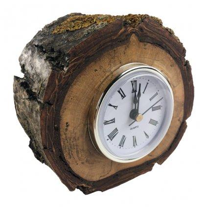 Dřevěné stolní hodiny Luna