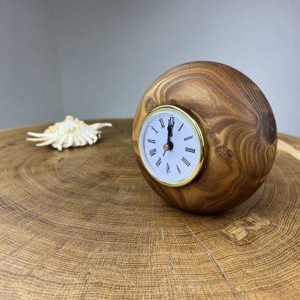 Dřevěné stolní hodiny Gianna