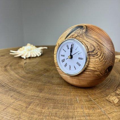 Dřevěné stolní hodiny Remy