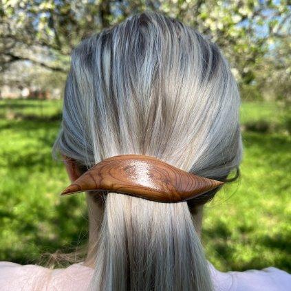 Dřevěná spona do vlasů Colton