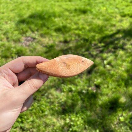 Dřevěná spona do vlasů Callien