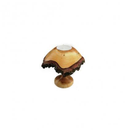 Dřevěný svícen Bandy