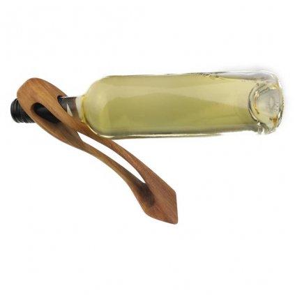 Dřevěný stojan na víno Andy,ořech