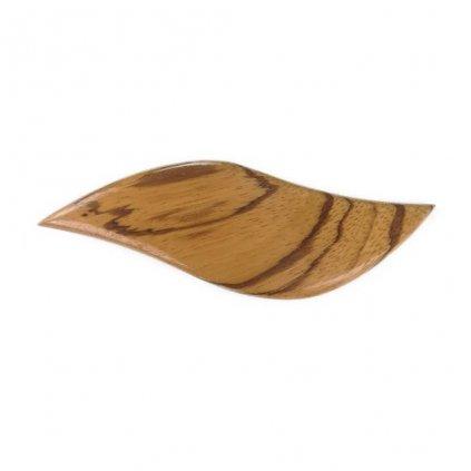 Dřevěná spona do vlasů Iris