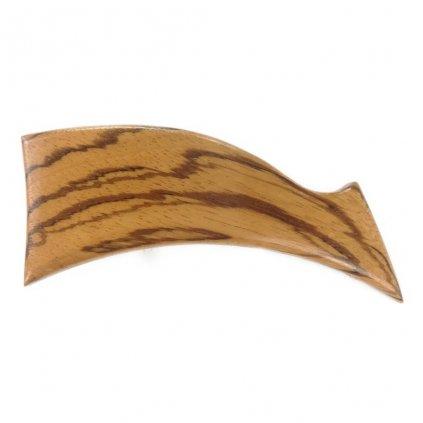 Dřevěná spona do vlasů Kyra