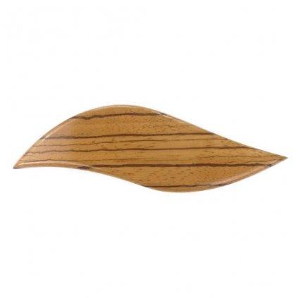 Dřevěná spona do vlasů Kira