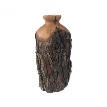 Dřevěná váza 13 cm Lana
