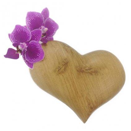 Dřevěná váza na magnet Tuari