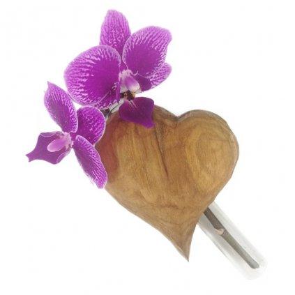 Dřevěná váza na magnet Tawia