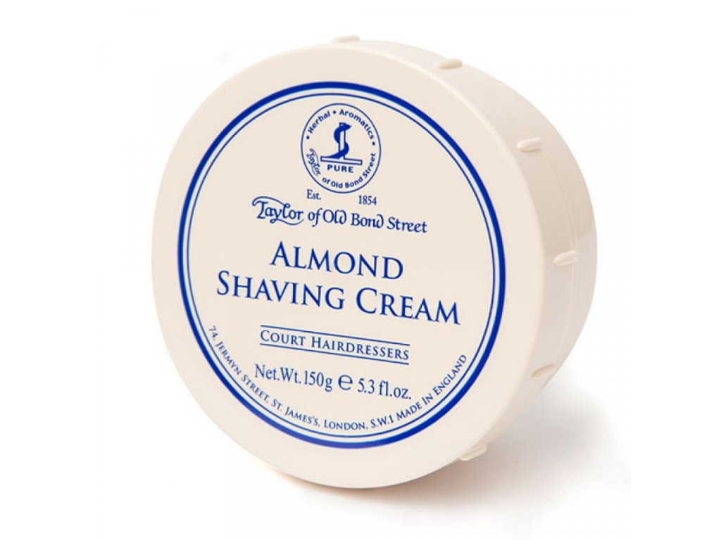 Taylor of Old Bond Street Almond krém na holení 150 g