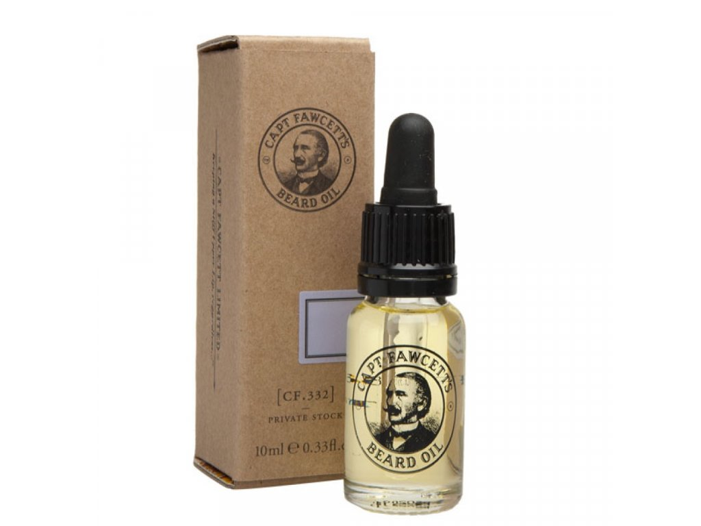 Captain Fawcett Private Stock olej na vousy 10 ml