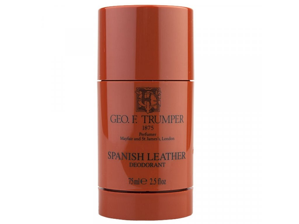 Geo F. Trumper Spanish Leather tuhý deodorant 75 ml