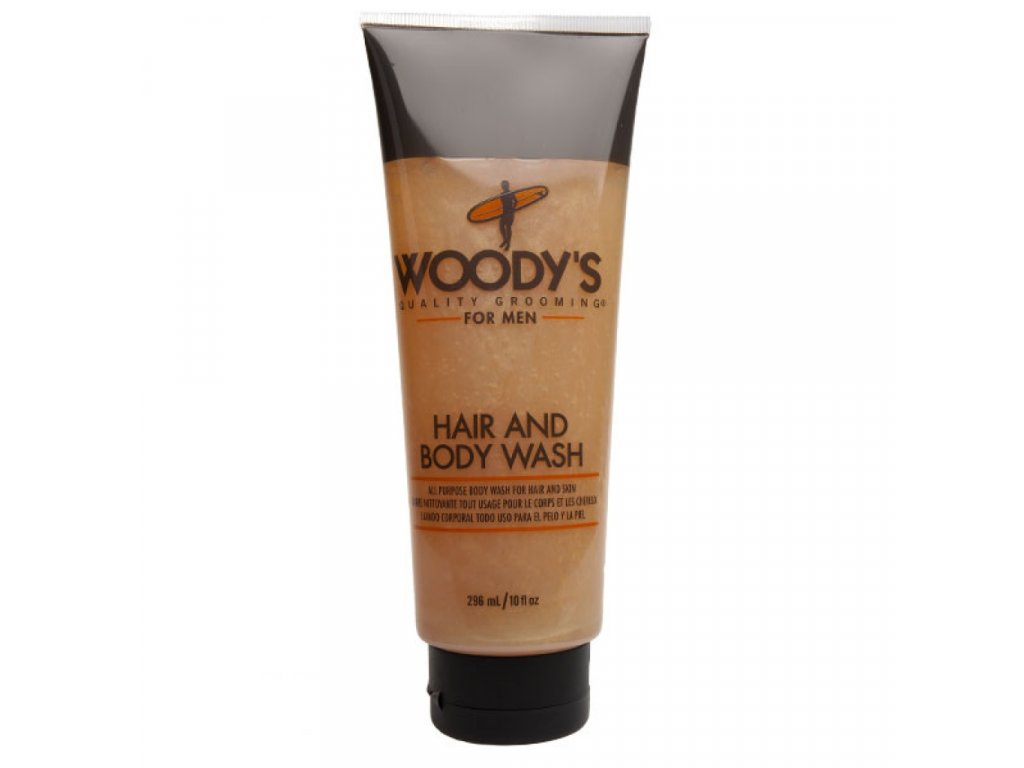 Woody's For Men vlasový a tělový šampon 296 ml