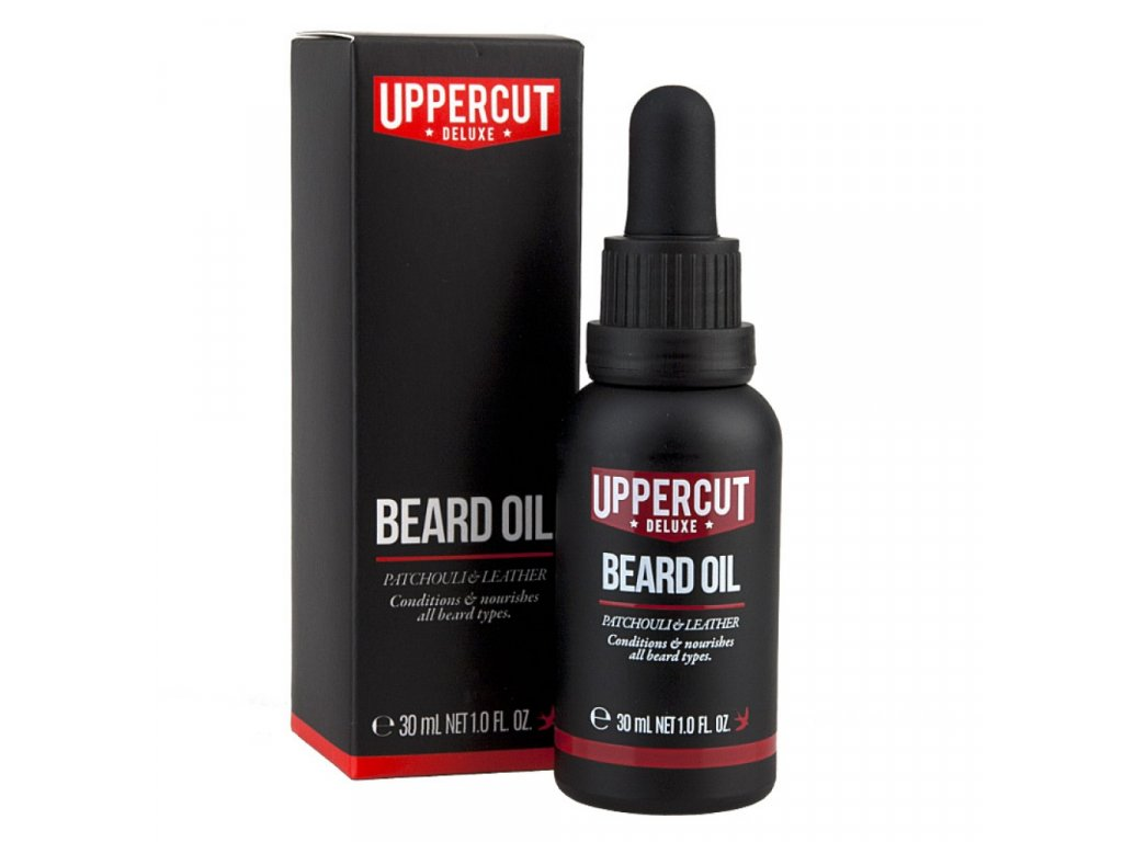 Uppercut Deluxe olej na vousy 30 ml